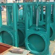 渠道鋼制閘門 手動一體式焊接插板閘門