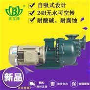 卧式耐酸碱可空转自吸泵