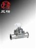 G49J-10隔膜阀:卫生隔膜阀