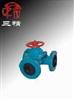 G49J-10隔膜阀:三通式衬胶隔膜阀