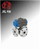 Q644F型球阀:气动三通球阀