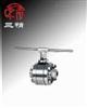 Q41H球阀:锻钢三片式硬密封球阀